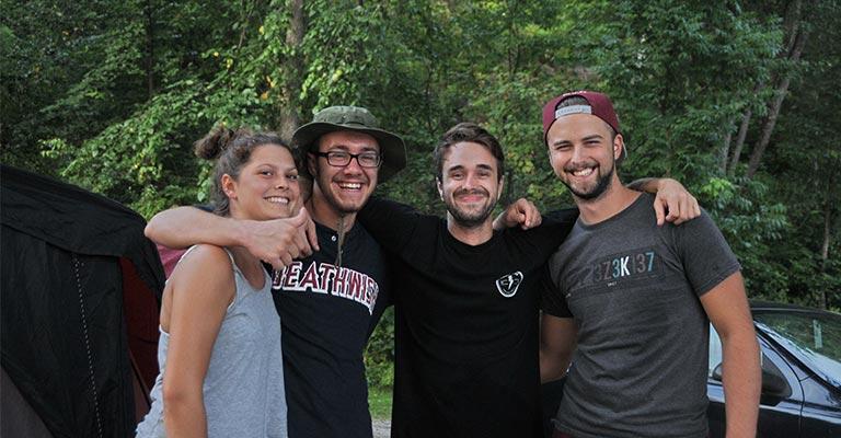 Camping Union Chute aux Iroquois, idéal entre amis et famille