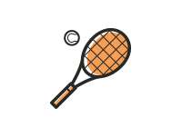 Camping Union - Camping Lac-Saint-Michel: Tennis