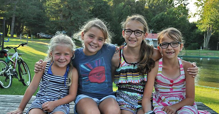 Camping Union Camping Lac-Saint-Michel, idéal entre amis et famille