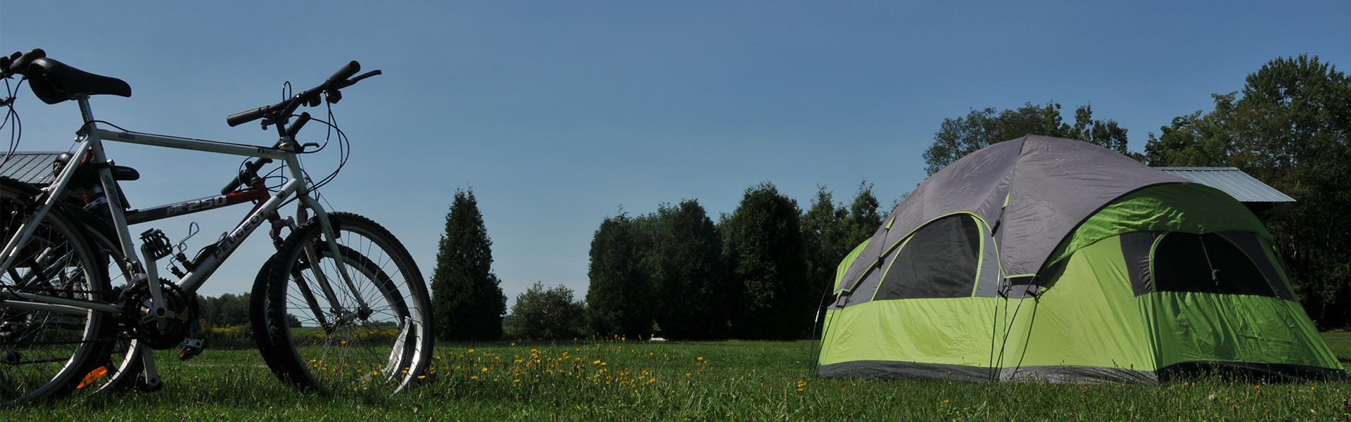 Camping Union - Camping Lac-Saint-Michel : Visitez l'un des plus beau site de camping au Québec!