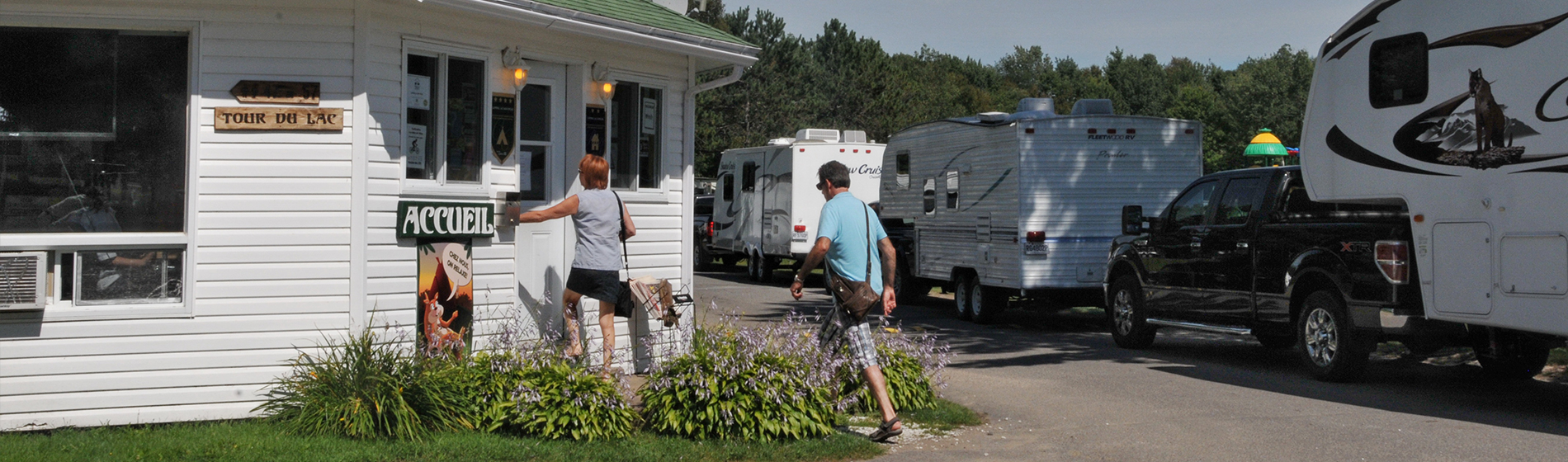 Contact the team at Camping Lac-Saint-Michel in Mauricie