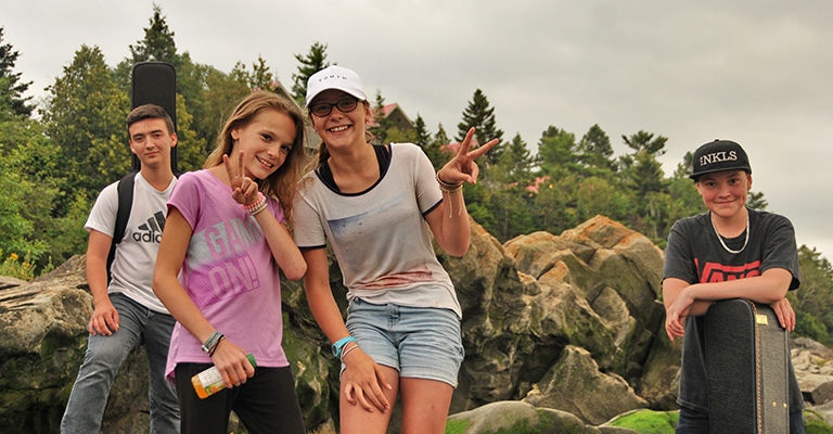 Camping Union, Camping De la Demi-lieue, idéal entre amis et famille