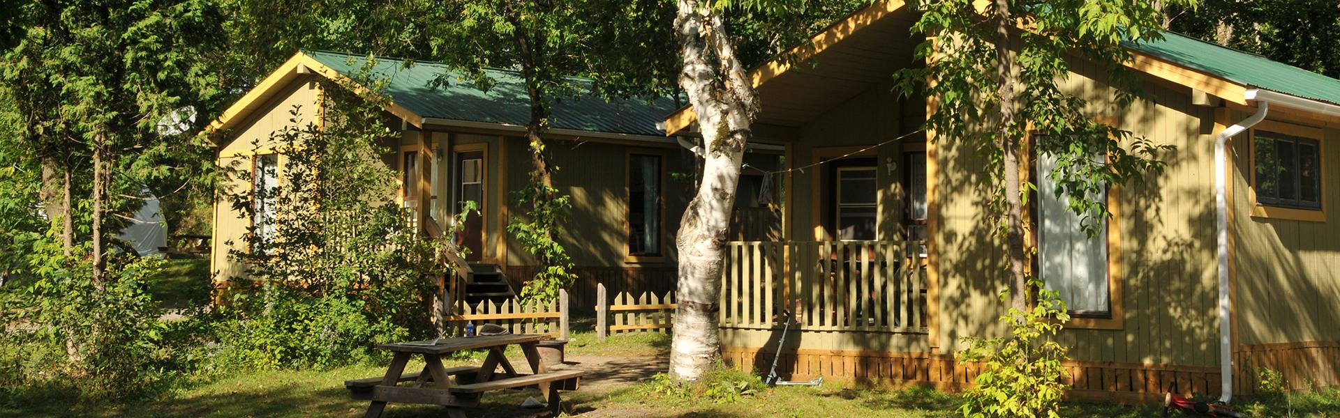 Camping Union - Camping Du Gouffre dans la région de Charlevoix