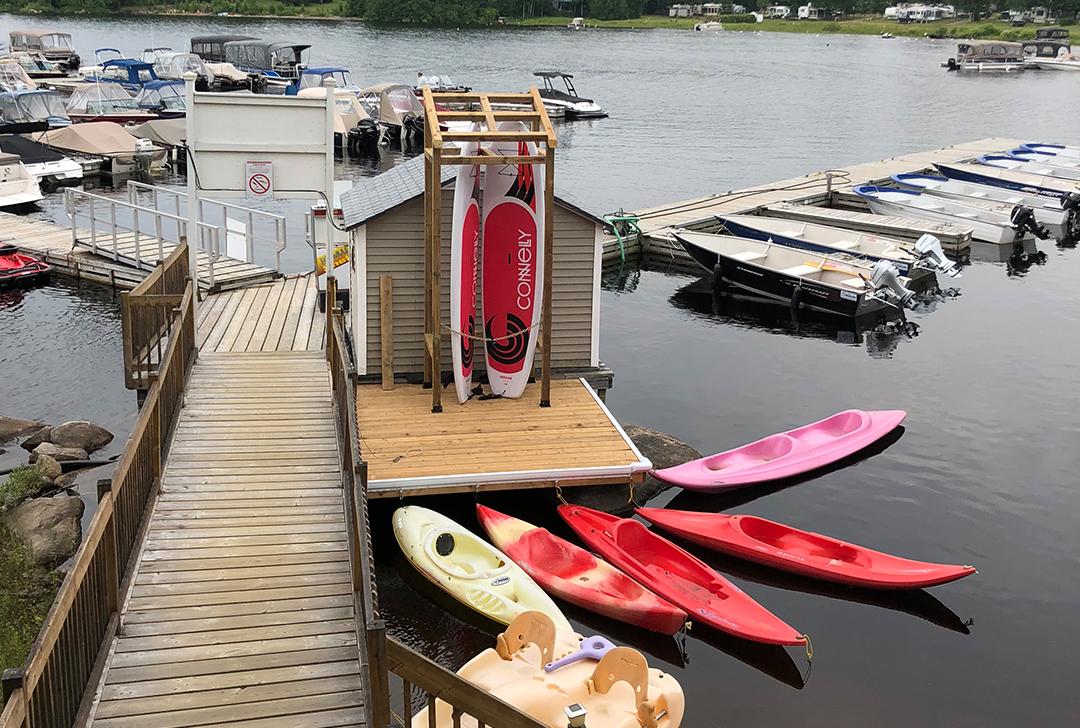 Camping Union - Camping Union Baskatong et Pourvoirie Rainville dans l'Outaouais