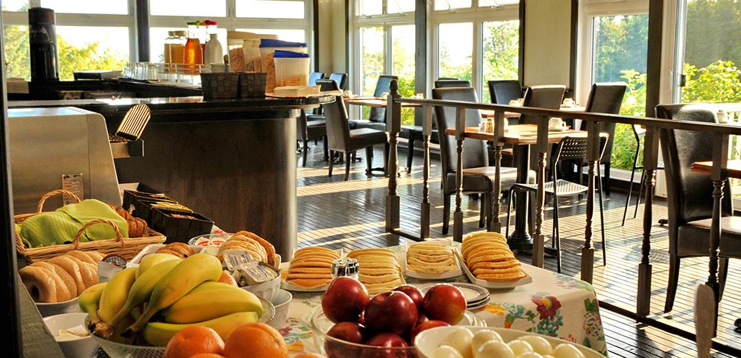 Domaine Annie-sur-mer offre des petits déjeuners